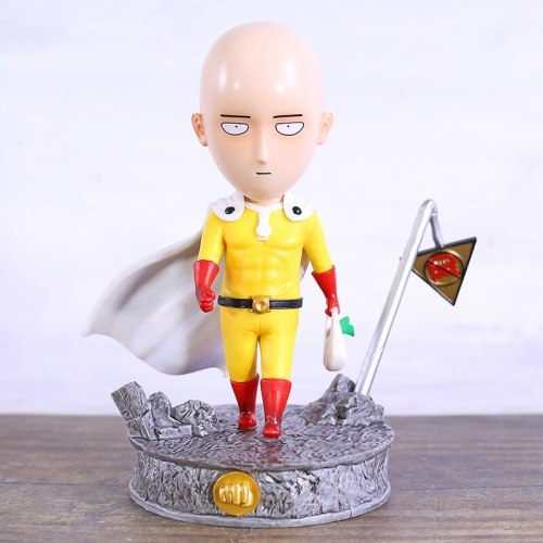 Japanese Anime One Punch Man Saitama PVC Figure Collectible Statue Model Toy