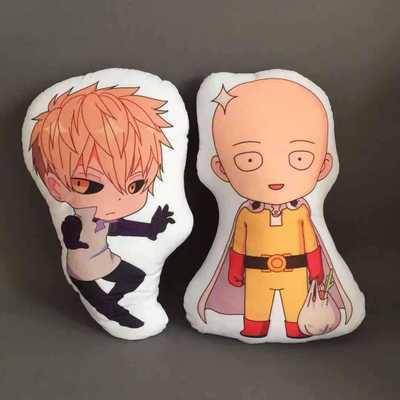 ONE PUNCH-MAN Fashion Anime Stuffed Plush Pillows Fluffy Pillow Doll Cartoon Toys Unisex Birthday Gifts New