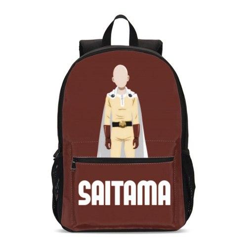 VEEVANV Backpacks For Boys Girls Anime Cartoon One Punch Man 3D Printing Bookbag Teenage Kids School Bag Satchel Mochila Escolar