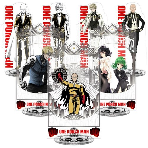 ONE PUNCH MAN Toy Height 21cm Anime Action Figure Toy Acrylic Decorative Ornaments Creative Gift