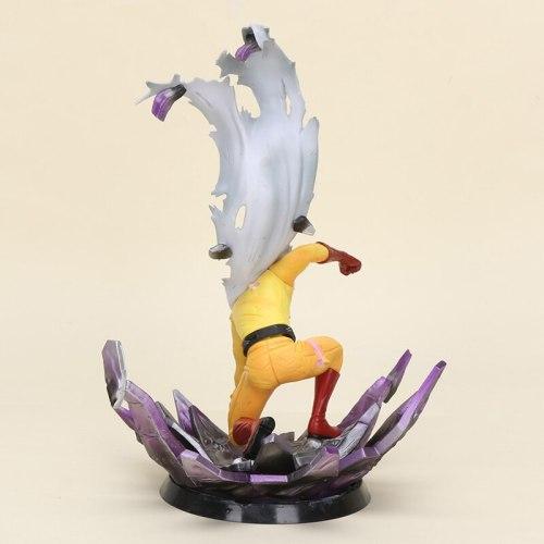 24cm Anime One Punch Man Saitama Figure toy Saitama Brinquedos PVC Action Figure Collectible Model One-Punch Man Toy