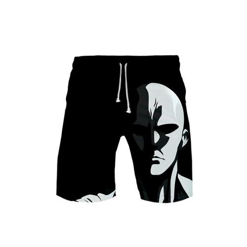 One Punch Man 3D Beach Shorts Kids Men Women Quick Dry Swimwear Beach Pants Warm Fashion Shorts Swimming Surfing Board Shorts