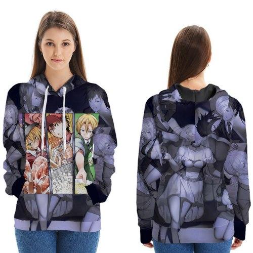 Anime Food Wars!Shokugeki no Soma Yukihira soma 3D Printed Hoodie Cosplay Costume Men Women Hooded Sweatshirts Streetwear