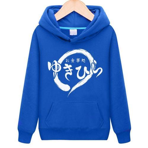 Unisex Anime Shokugeki no Soma Hooded Hoodie Pullovers Yukihira souma Cotton Casual Hoodie Sweatshirts Coat Top