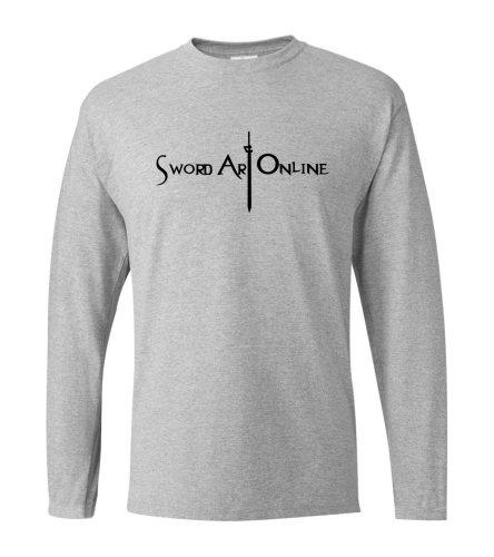 hot sale Anime Sword Art Online SAO men long sleeve T-shirts 2019 spring 100% cotton S.A.O men t shirt harajuku men's sportswear
