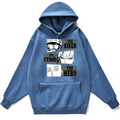 Man Hoodie Japanese Anime One Punch Mancity Hero Saitama Printing Hoody For Men Brand Cool Hoodie Fleece Pullovers Men