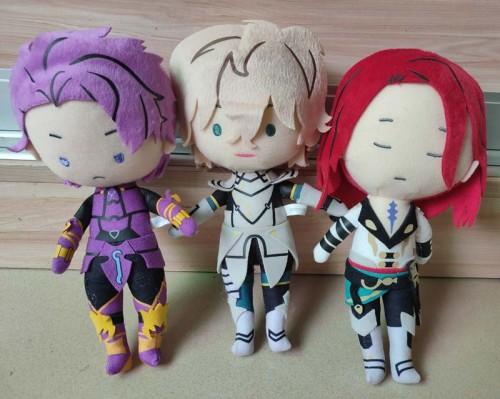Fate Grand Order Ichiban Kuji  Archer Tristan Saber Gawain Saber Lancelot Plush Doll Stuffed toy JAPAN 2019