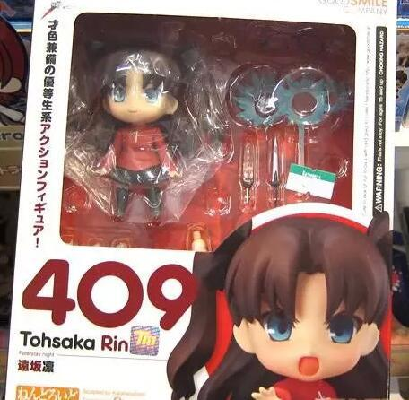 Fate Grand Order fate stay night Tohsaka Rin 409 Action Figure PVC Collection Model toys brinquedos for christmas gift