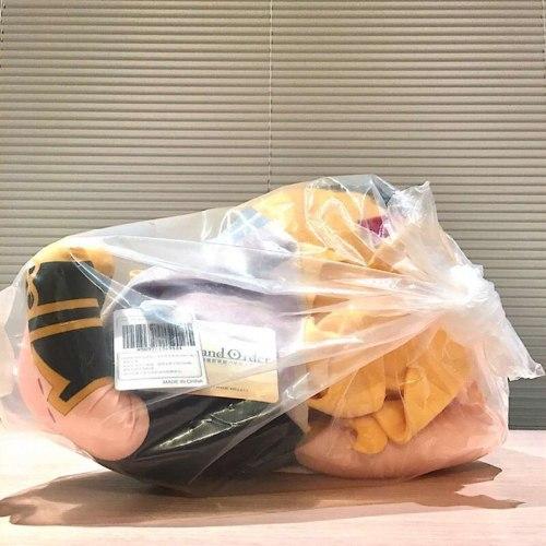 FGO Fate Grand Order Ereshkigal mega jumbo Nesoberi Plush Doll Stuffed toy doll doll A birthday present for a friend