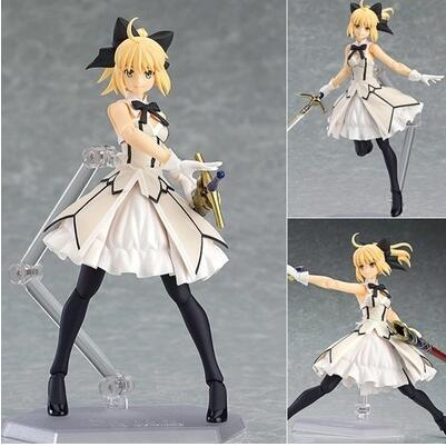 15cm Fate stay night saber figure PVC toys collection anime cartoon model toys collectible for friend gift
