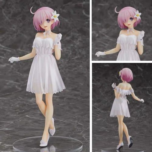 Fate Grand Order Shielder Mash Kyrielight Heroic Spirit Formal Dress Ver. 1/7 Anime Figure Sexy Girl PVC Action Figure Toys