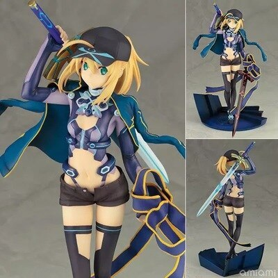 Anime Fate Grand Order Mysterious Heroine X Assassin Saber 1/7 Scale PVC Figure Collectible Model Toy 22CM