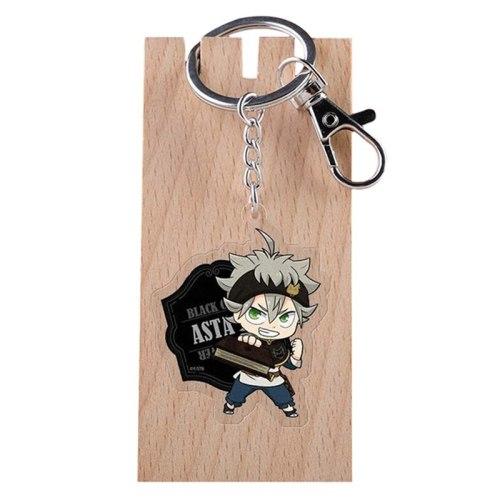 21 Styles Cartoon Anime Black Clover William Vangeance Acrylic Key Chain