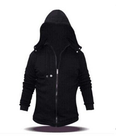 Anime Tokyo Ghoul Kaneki Ken Cosplay Costume Jackets Unisex Hoodie Coat Thick Warm Hooded Sweatershirts Black  Jackets Coats