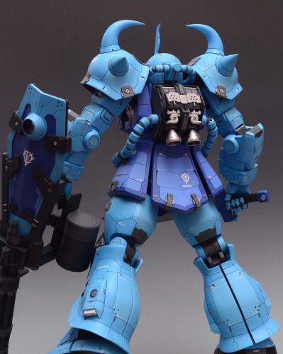 PG 1/60 Gundam ZAKU MS-07B-3 Garage Kit 3D printed resin does not include Bandai models