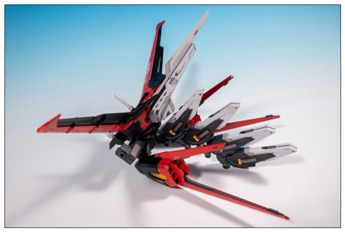 PG 1/60 Strike Gundam Flying backpack Kira Yamato GAT-X105 Garage Kit 3D printed resin does not include Bandai models