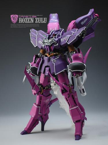MG 1/100 Rozen Zulu YAMS—132 Garage Kit 3D printed resin does not include Bandai models