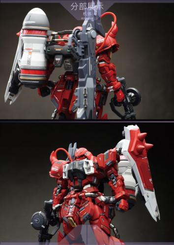 MG 1/100 Gundam seed ZAKU Warrior ZGMF-1000 Garage Kit 3D printed resin does not include Bandai models