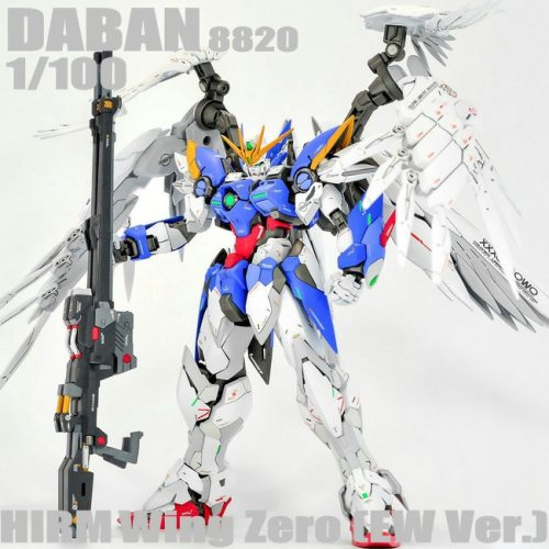 DABAN 8820 MG 1/100 Wing Gundam Zero EW Action figure Assemble Model Toys