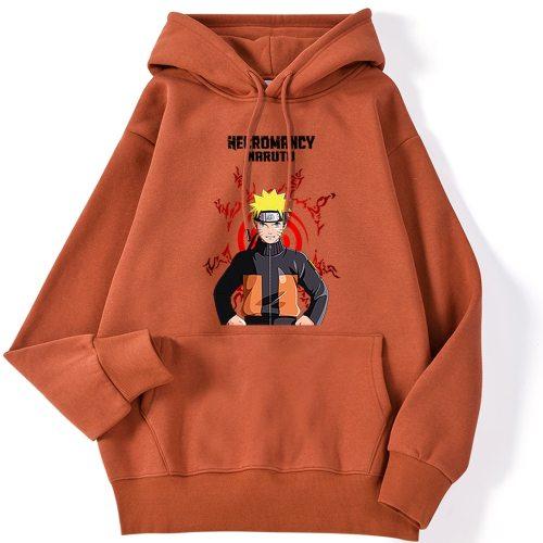 2020 New Fashion Anime Naruto Printed Mens Hoodie Funny Crewneck Streetwear Fashion Crewneck Clothes Casual Fleece Hoody Man