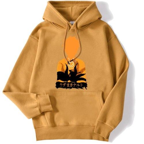 Japanese Anime Naruto Print 2020 New Mens Sweatshirt Hip Hop Street Hoody Creativity Street Hoodies Autumn Loose Men Pullover
