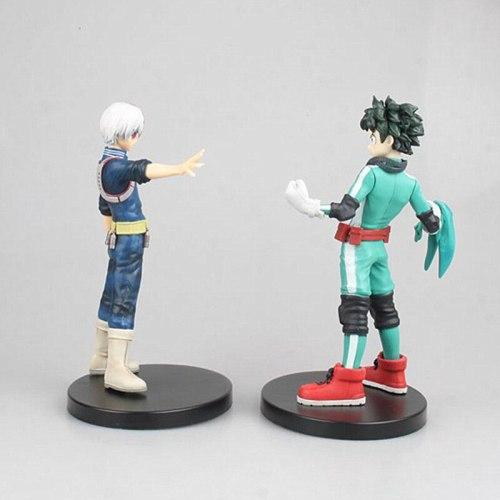 16cm Deku Figurine Anime My Hero Academia Figure Todoroki Shoto Action Figures  PVC Collection Model Toys Statue Gifts