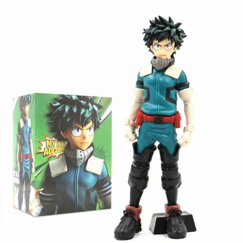 25cm Midoriya Izuku Figurine Anime My Hero Academia Figure Deku Izuku Statue Action Figures PVC Collection Model Toys Gifts