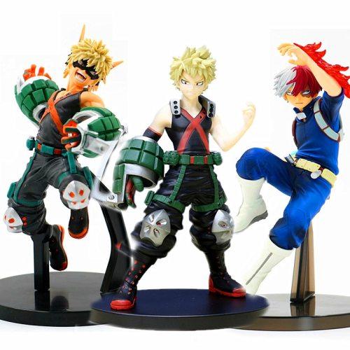 Anime My Hero Academia Figure Staue Todoroki Shoto Action Figures Bakugou Katsuki Figurine PVC Collection Model Toy Gifts