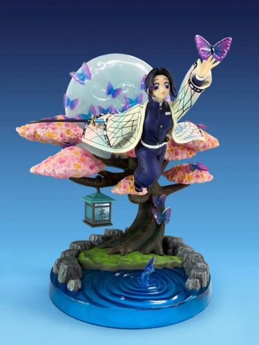 Demon Slayer Kochou Shinobu Anime Sexy Girl Figure Toys PVC Action Figure Toys Kochou Shinobu Collection Model Doll Gift