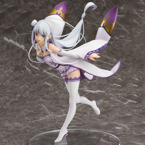 22cm Re:Life In A Different World From Zero Emilia Anime Action Figure Emiria 1/7 PVC Collection Model Dolls Toys for Boys Gifts