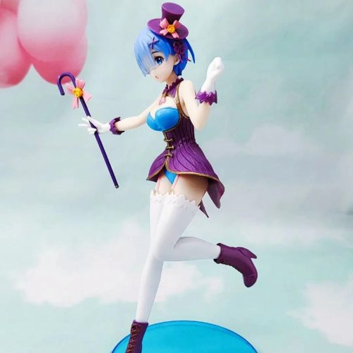 23cm Rem Anime Re:Life In A Different World From Zero Magician Ver. PVC Action Figure Figurine Model Toys Gift Action Figure