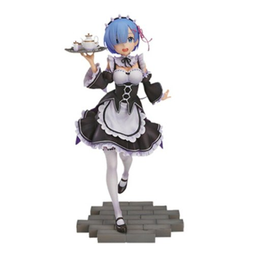 Zero Life In A Different World From Zero Anime Rem Bikini EXQ Swimsuit Ver. Boxed 9-25cm PVC Action Figure Collection Model Toy