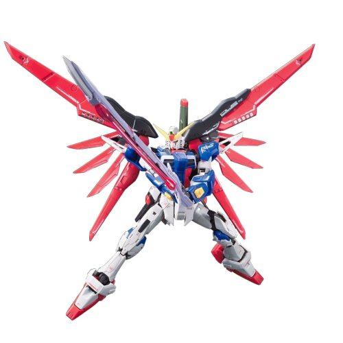 Japanese Original Bandai 13cm 1/144 RG 11 Destiny Gundam Assembly Action Figures PVC Model Hot Robot Collectible Kids Toys Gift