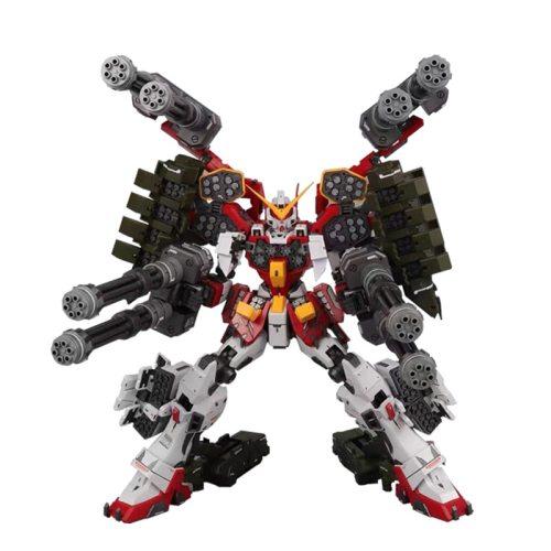 Anime IN-STOCK MG 1/100 Super Nova XXXG-01H EW Gundam Heavy Arms Custom IGEL assemble model kit Action Figure Robot hot kids toy