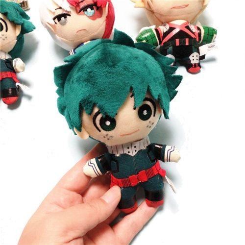 Stuffed My Hero Academia Midoriya Izuku Plush Dolls Bakugou Katsuki Todoroki Shouto Original Japan Anime Toys for Children Gifts
