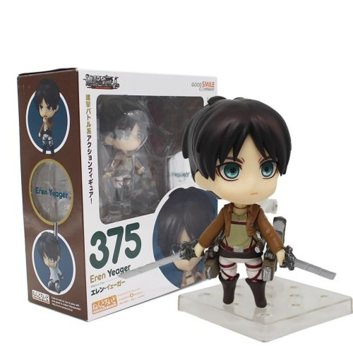 Anime Attack On Titan Eren Yeager Gsc375# Clay Doll 471# Levi Cleaning Ver. Allen Heichov Rivaille Collectible Action Figure Toy