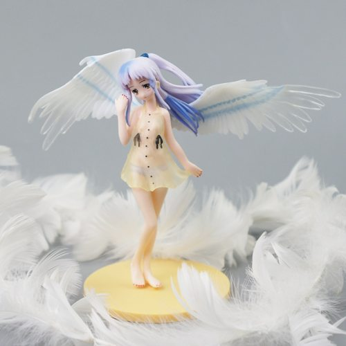 15cm Anime Angel Beats Model Girl Toy Two Dimensions Doll Peripheral Collection Ornaments Gift Tenshi Kanade Tachibana for Youth