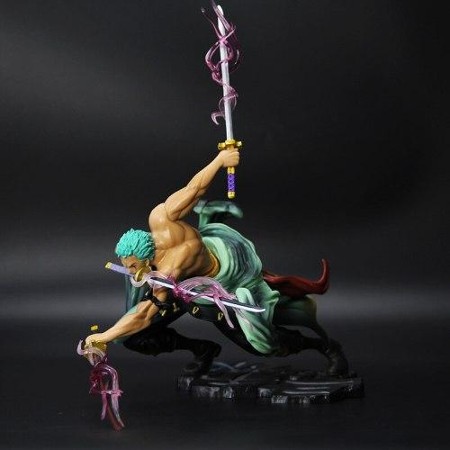 18cm Anime Figure Roronoa Zoro Three-blade Sa-maximum Special PVC Action Figure Generation Collectible Model Gift Toy