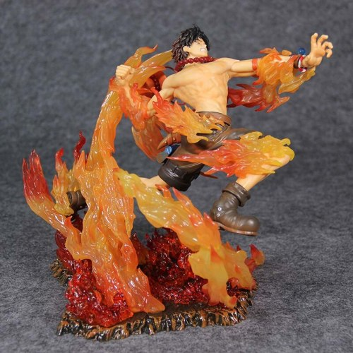 Anime One Piece Ace Fire Fist PVC Action Figure Portgas·D· Ace 15th Anniversary Max Collection Figurine 20cm Model statue Toys