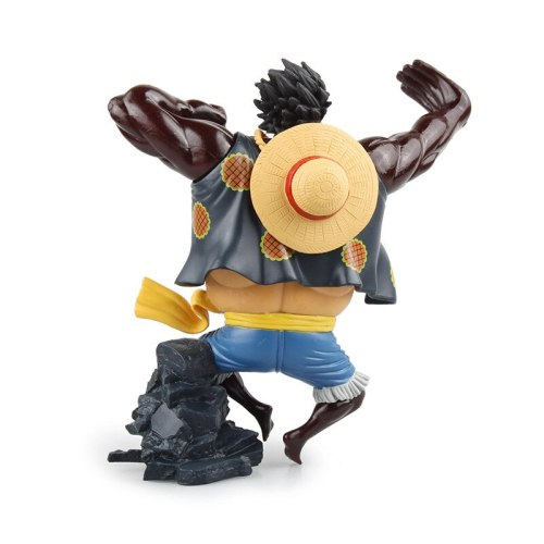 Animation One Piece Cool Monkey D Luffy PVC 18cm Action Figure Anime Figure Model hot kids Toy Collection Gift Doll original box