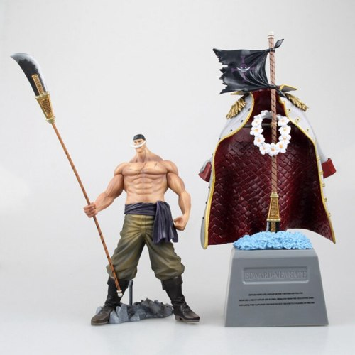 Anime Figure One Piece Edward Newgate hot kids Toy Animation Action Figure Model Collection brinquedos Gift Doll original box