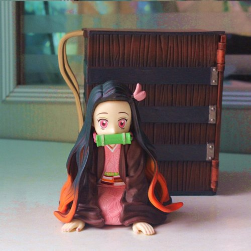 Newest Anime Figure Demon Slayer Nezuko Action Figure Collectible PVC Model Toys Figurine Decoration Gifts Dolls for Kids Youth