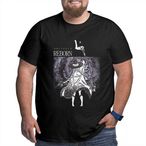Mushoku Tensei Jobless Reincarnation Roxy T Shirt Camisetas Oversized Cotton Crewneck Custom Short Sleeve Shirts