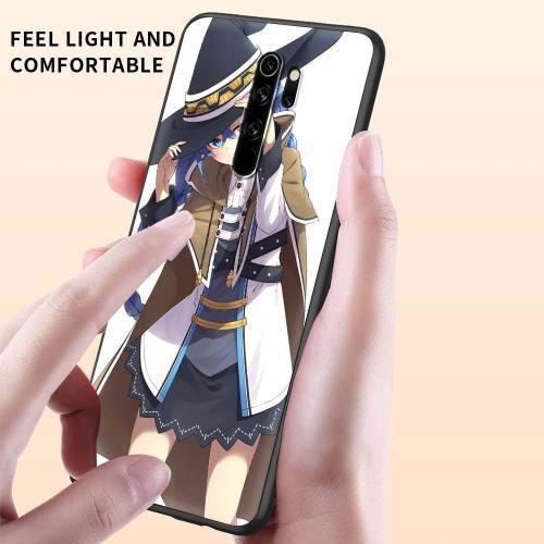 Phone Case for Xiaomi Redmi Note 9S 8 Pro 8T 9 7 9C 9A 6A 8A 7A 10 K40 Pro Soft Silicon Back Cover Mushoku tensei
