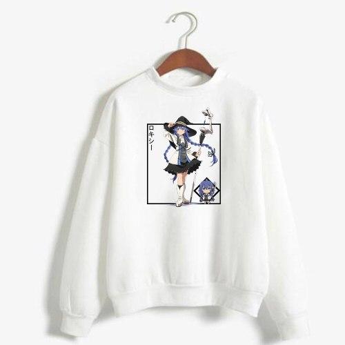 Anime Mushoku Tensei: Jobless Reincarnation Sweatshirt Loose Unisex Autumn Tops