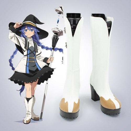 Mushoku Tensei Jobless Reincarnation Roxy Migurdia Cosplay Shoes Boots Halloween party accessories