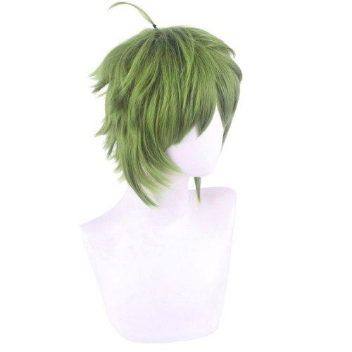 Anime 30CM Jobless Reincarnation Sylphiette Greyrat Cosplay Wig Mushoku Tensei Green Short Heat Resistant Synthetic Hair Wig