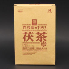 Anhua Baishaxi 1953 Fucha * Hunan Anhua Black Tea 338g Golden Flower Dark Tea