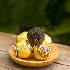 Organic Ball Shaped Aged Shou Mei Longevity Eyebrow Handmade White Tea 500g