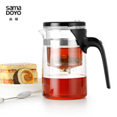 Samadoyo E-01 High Grade Gongfu Teapot & Mug 500ml Glass Teapot SAMA Art Tea Cup